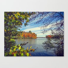 Autumn Peek-a-Boo Canvas Print