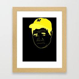 I __ Baseball Framed Art Print