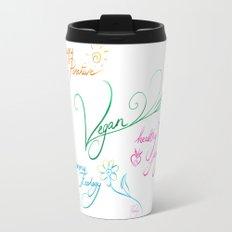 Vegan & happy lifestyle Travel Mug