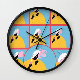 break and compose Wall Clock