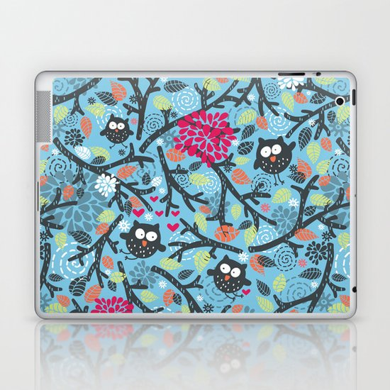 Owls. Laptop & iPad Skin