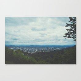 Stumptown Canvas Print