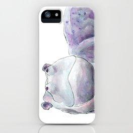 Happy Hippo iPhone Case