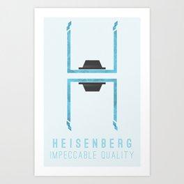 Breaking Bad: Heisenberg - Impeccable quality Art Print