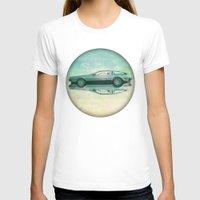delorean T-shirts featuring Siamese  Delorean by Vin Zzep
