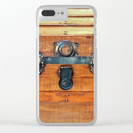Antique Trunk Clear iPhone Case