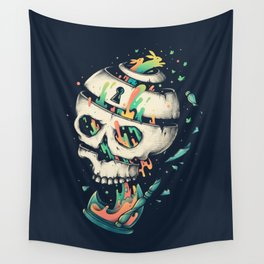 Fragile Delusion of Life and Death Wall Tapestry