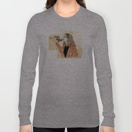 """""""just be yourself!"""" Long Sleeve T-shirt"""