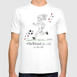 #SheBelieved T-shirt