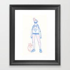 Short Shorts! Framed Art Print
