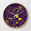 Art Supplies - Eggplant and Yellow by erikfoxjackson