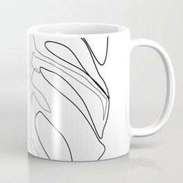 """""""Botanical Collection"""" -  Monstera Print Coffee Mug"""