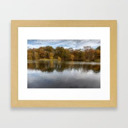 Autumn Ponds - 1 Framed Art Print