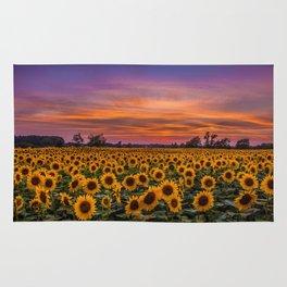 Sunflowers Rug