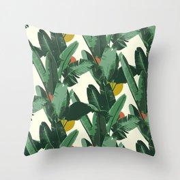 Crystal Gardens Pattern Throw Pillow