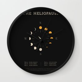 The Heliopause Wall Clock