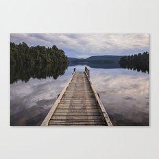 Mapourika Lake Canvas Print
