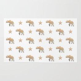 ELEPHANT & STARS Rug