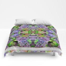 AUTUMN HYDRANGEA MANDALA Comforters