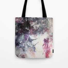 Hades and Persephone: First encounter Tote Bag