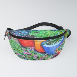 Down the Garden Path Fanny Pack