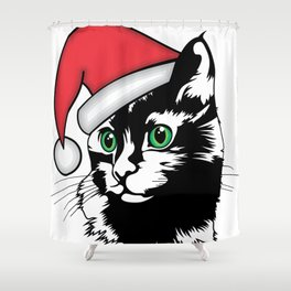Oh, Gosh! It's Christmas?! Shower Curtain