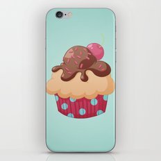 Chocolate Cupcake iPhone Skin
