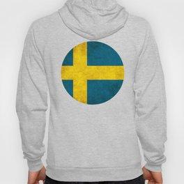 Sweden flag, circle Hoody