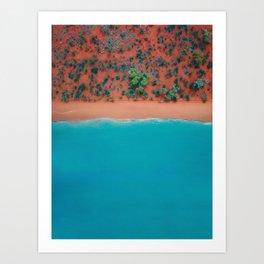 Broome Australian Beaches  Art Print
