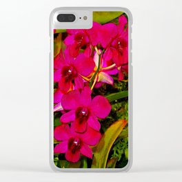 Orchid Study 21 Clear iPhone Case
