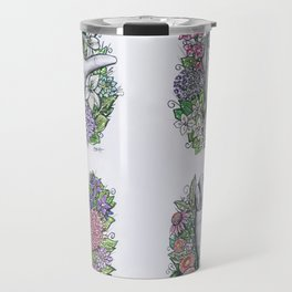 LOVE ASL Art- square version Travel Mug