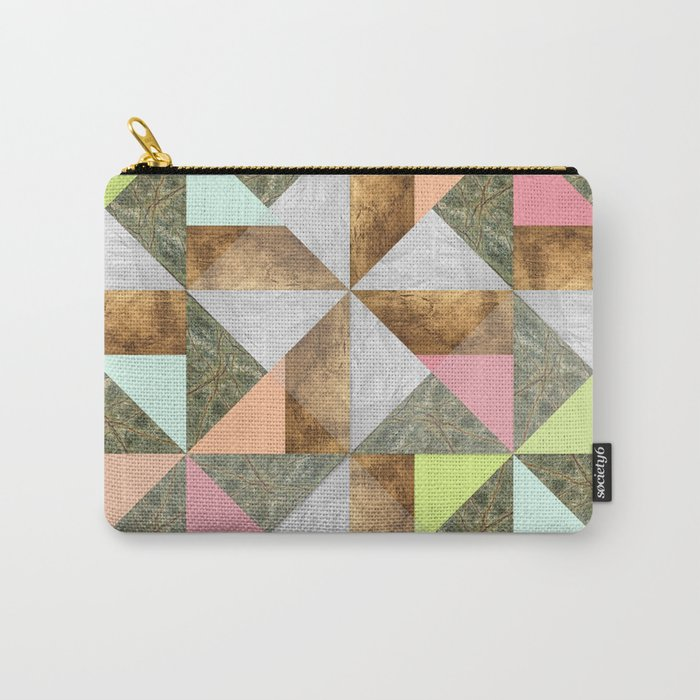 Pinwheel Carry-All Pouch