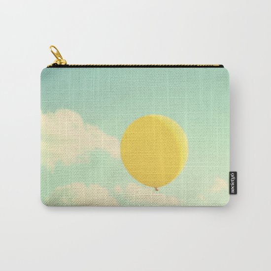 yellow balloon Carry-All Pouch