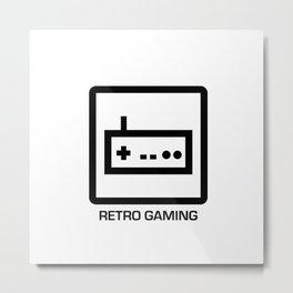 retro gaming Metal Print