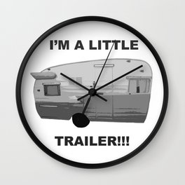 Trailer Trash 2 Wall Clock