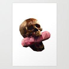 Poison Polygon Art Print