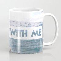 sail Mugs featuring SAIL by LOPP