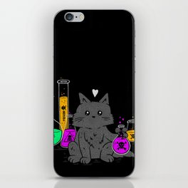 I Think My Cat Wants to Kill Me iPhone Skin