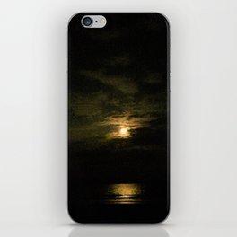 Dark moonlight iPhone Skin