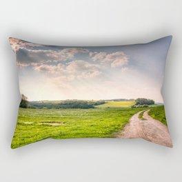 Road To Happiness  Rectangular Pillow