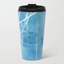 Nature's Graphics Blue Cyanatope Print Travel Mug