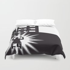 The Black Collection' Window Duvet Cover