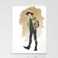 grantaire Stationery Cards featuring Grantaire  by icarusdrunk