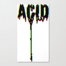 ACID DRIPS [CYMK] Canvas Print