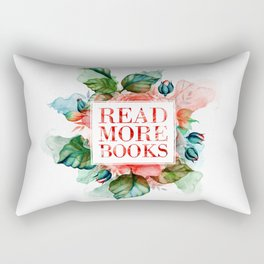 Read More Books Rectangular Pillow