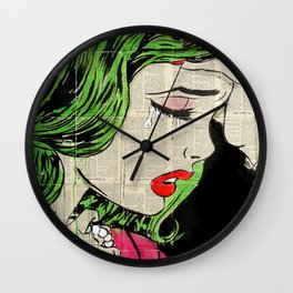 POP PRINCESS Wall Clock