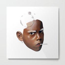 Angry boy Metal Print