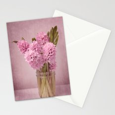 Hyacinth 2 Stationery Cards