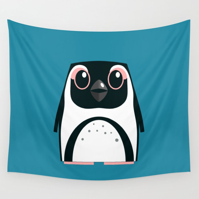 African Penguin - 50% of profits to charity Wall Tapestry
