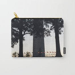 Flag ring around the Washington Monument Carry-All Pouch